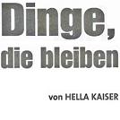 """Zeitungsartikel im """"DER TAGESSPIEGEL"""""""